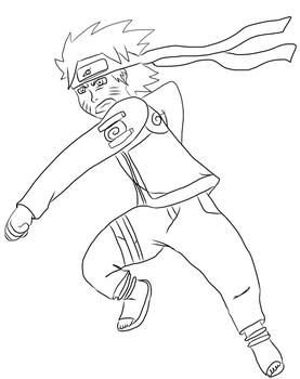 Naruto Pose by dragzata