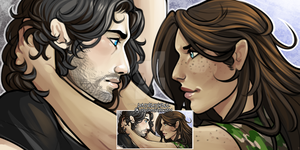 Lancelot and Guinevere by Untruthfull