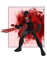 Red Lantern Wolverine by Alexander463