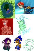 Storm Hawks picture dump thingy by Shubbabang