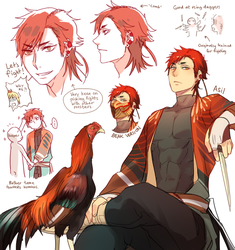 Plume Parade: Asil Chicken by Cioccolatodorima