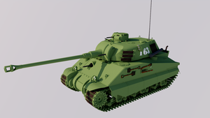 Heavy Tank, Mark 6 by TheoComm