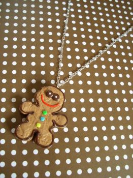 Mr gingerbread man :) by PORGEcreations