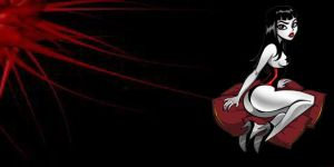 Rock Chick toon wallpaper 7 by IGMAN51