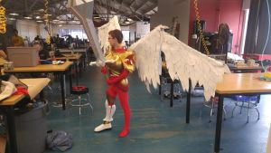 Kayle WIP for Fanime 2016 by AndurilWielder