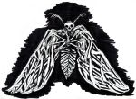 Corpse Moth (Ink) by KingOvRats