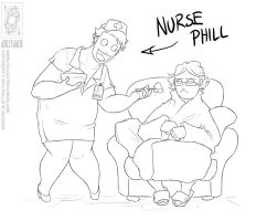 Nurse Phill by jollyjack