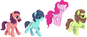 My Little Pony - Beatles shirt design by kaizerin