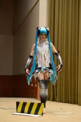 Miku Append cosplay by Lulisuki
