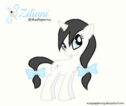 OC Re-design by MissPepperony