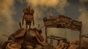 Rusty Stop by wakpan