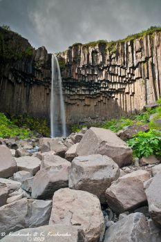 Svartifoss by Dark-Raptor