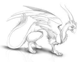 Aedras Bestiarium Urbanum - Common Briefler Sketch by Lizkay
