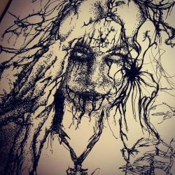 Scribble Horror by TheInkFanatic