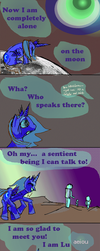 Luna is sad for real right now by AwieUltra