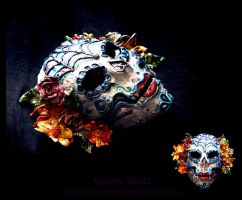 Sugar Skull by El-Sharra