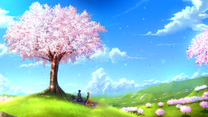 Under the Cherry Blossom by Juh-Juh