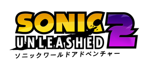 Sonic Unleashed 2 Logo (Updated) by NuryRush