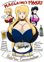 MacLaine's Mixers: Colorized, Cute... Barmaids by YukaTakeuchiFan