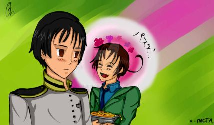 Japan and Italy by Chyche