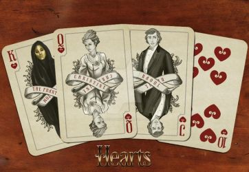 Hearts of the POTO deck by Alekstjarna