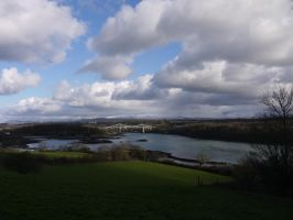 Menai Bridge by celtes
