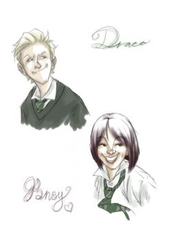 Slytherin Prefects by Forbis