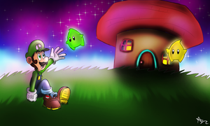 Weegee Galaxy by FoxiFyer