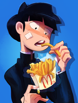 Mob fries by Iruchis