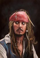 Captain Jack Sparrow by LaurenceAndrewPage