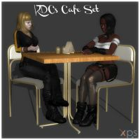 KDC's Cafe Set by KoDraCan