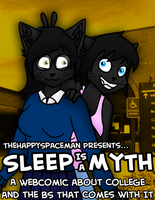 Sleep Is a Myth (Main Title Image) by The-Happy-Spaceman