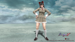 king of fighters 2006 athena, costume 2 color 7. by SkullsKnight