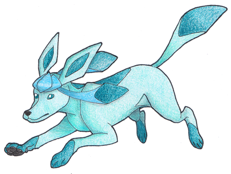 #471 Glaceon by AbsoL-G