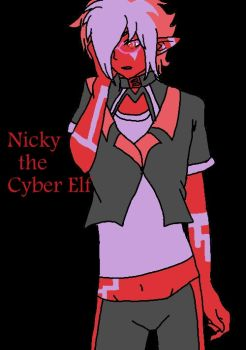 Nicky The Cyber Elf for KMH741 by HandsyDavidBowie