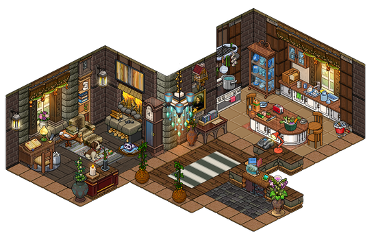 Habbo explore habbo on deviantart for Design hotel games