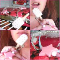 Collier 'Sweet Cream' by lamuse-bidules