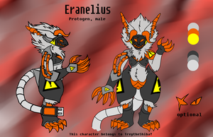 Eranelius Protogen Ref Sheet by TreyTheShiba