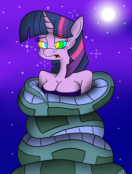 Hypnotic Spark (Colored) by LunaHazACookie