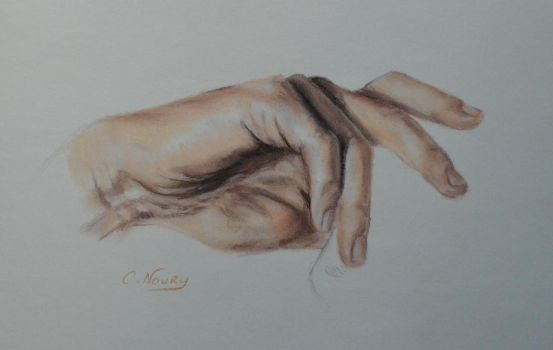 Tom's Hand 34 'Meditation' by Andromaque78