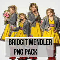 Bridgit Mendler Pack Png by MiliDirectionerJB