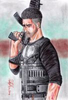 The Punisher (Netflix TV Series) by danielcamilo