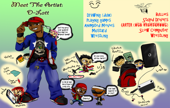 Meet The Artist by d-latt