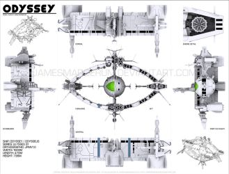 Odyssey model plans by JamesMargerum