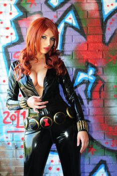 Black Widow, dangerous spy by Giorgiacosplay