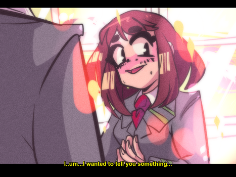 Ochako's confession by eclipsesong