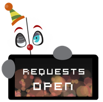 Ennard Requests OPEN Stamp by InkCartoon
