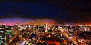 Tokyo Cityscape by montag451