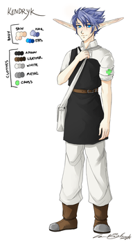 J+DII Character Design: Kendryk by DCRoleplays