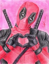 Deadpool (Movie Version) by danielcamilo